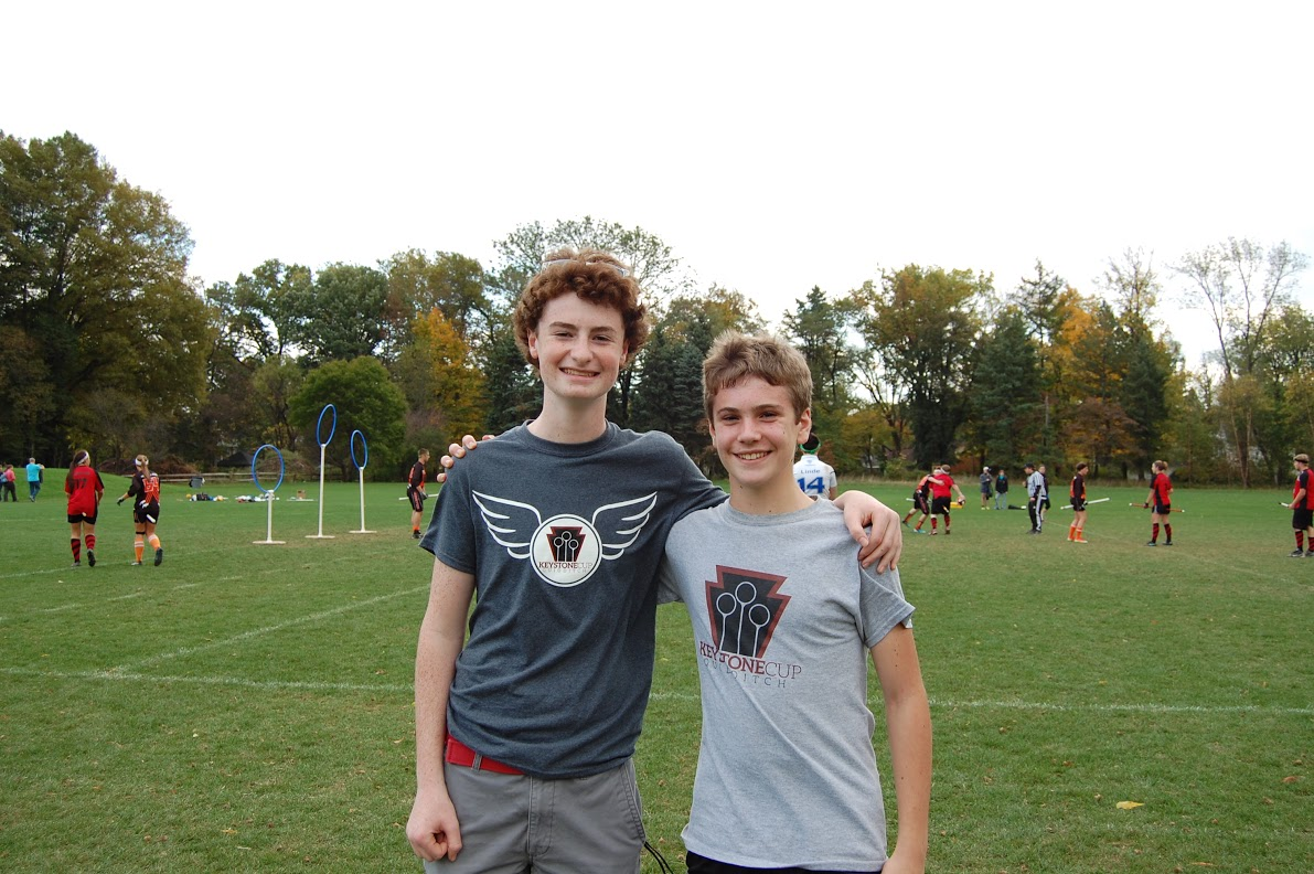 Liam Scott, Assistant Tournament Director, and Jack McGovern, Tournament Director
