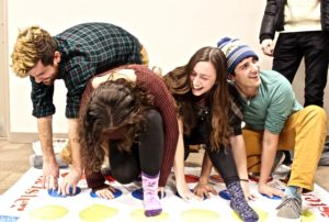Fords play twister in the DC Basement during its opening