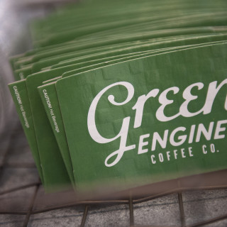 After months of preparations, Green Engine Coffee Co., Haverford's newest artisanal coffee shop, will be opening its doors on Wednesday, November 4.   October 30, 2015. Ryan Gooding, Staff Photographer