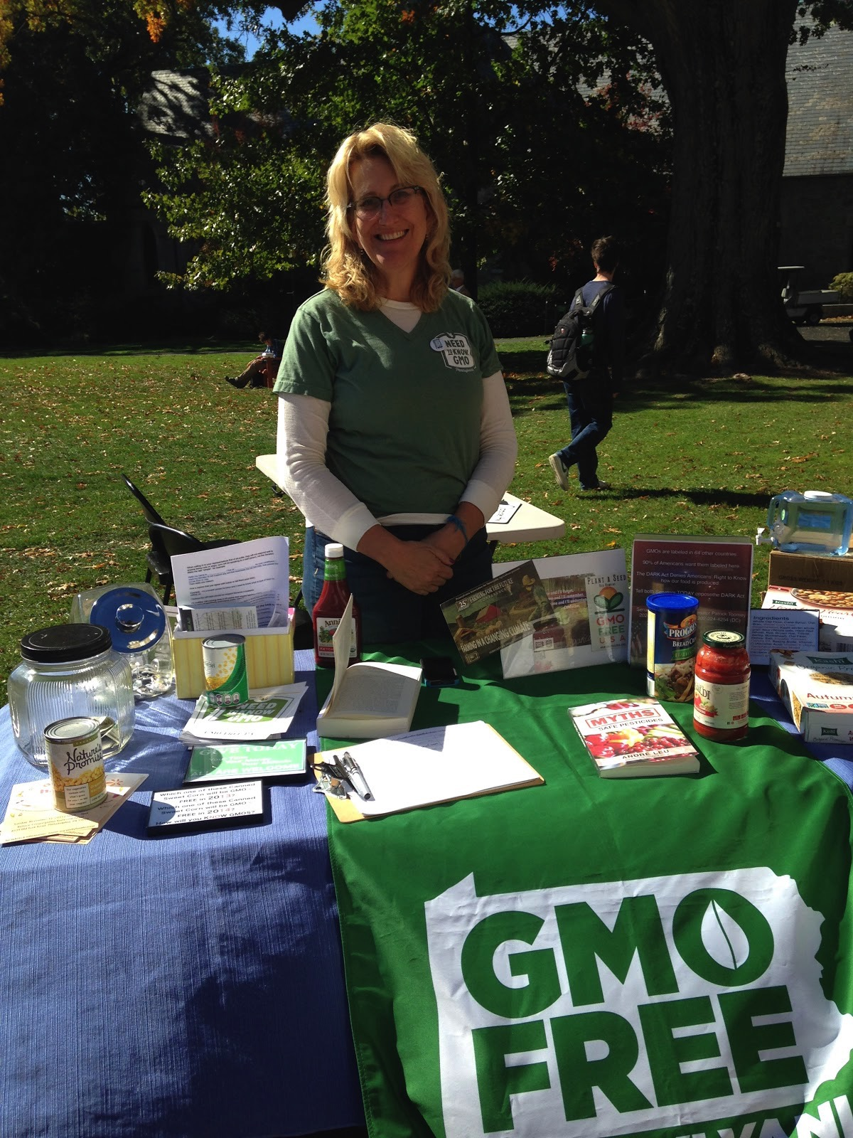 Representative from GMO Free Pennsylvania.