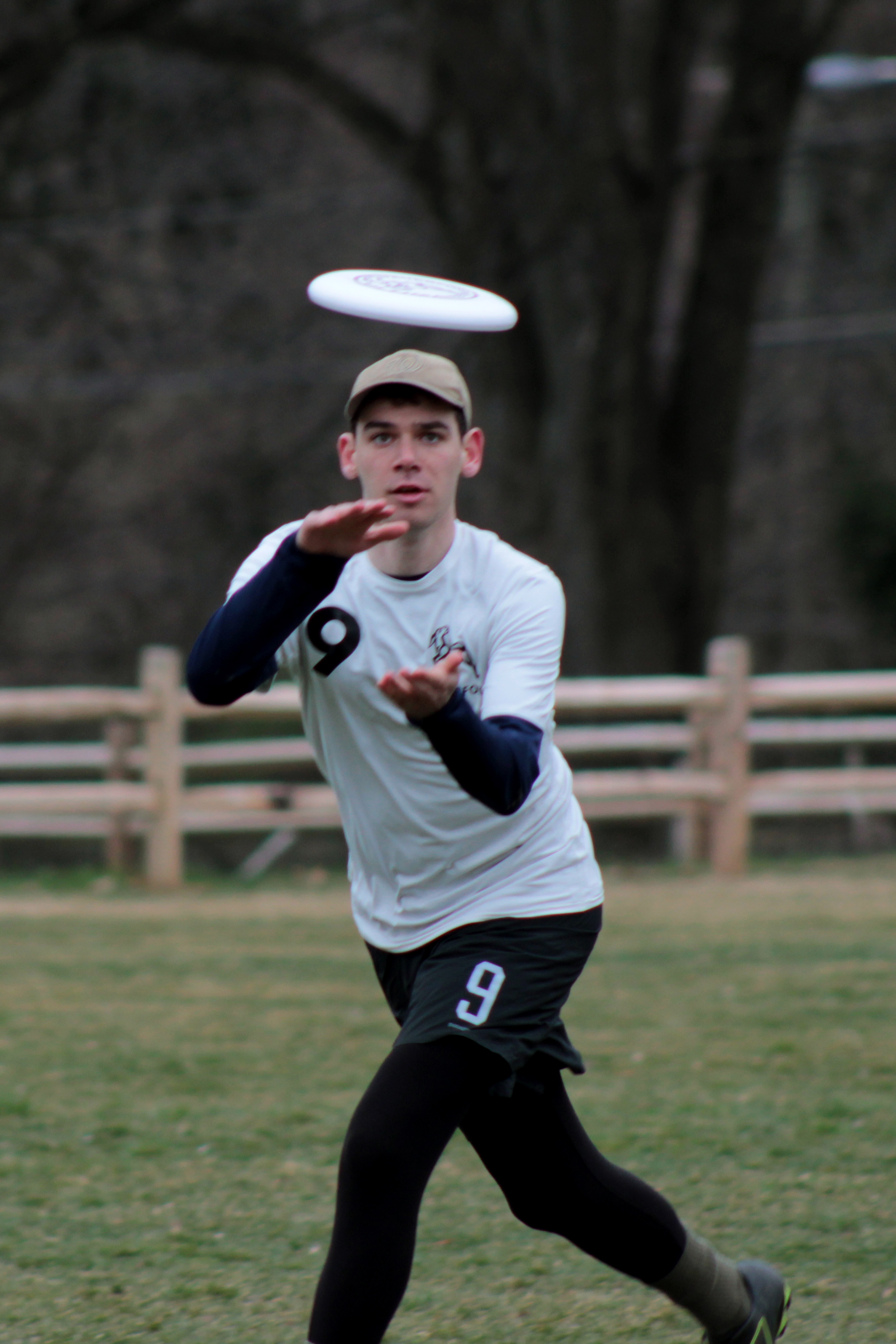 Steinberg runs for a disc